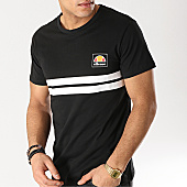 /achat-t-shirts/ellesse-tee-shirt-rayures-1031n-noir-167511.html