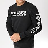 /achat-sweats-col-rond-crewneck/heuss-lenfoire-sweat-crewneck-logo-noir-167428.html
