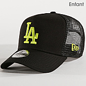 /achat-trucker/new-era-casquette-trucker-enfant-league-essential-los-angeles-dodgers-11871452-noir-jaune-fluo-167448.html