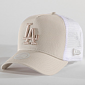 /achat-trucker/new-era-casquette-trucker-femme-los-angeles-dodgers-11871468-beige-blanc-167475.html
