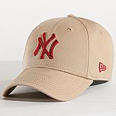 /achat-casquettes-de-baseball/new-era-casquette-league-essential-940-new-york-yankees-11871475-beige-167483.html