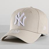 /achat-casquettes-de-baseball/new-era-casquette-femme-940-new-york-yankees-11871484-beige-167494.html
