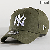 /achat-casquettes-de-baseball/new-era-casquette-enfant-league-essential-940-new-york-yankees-11871489-vert-kaki-167495.html