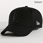 /achat-casquettes-de-baseball/new-era-casquette-enfant-940-los-angeles-dodgers-noir-167512.html