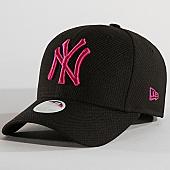 /achat-casquettes-de-baseball/new-era-casquette-femme-940-diamond-new-york-yankees-11871588-noir-167520.html