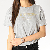 /achat-t-shirts/superdry-tee-shirt-femme-premium-bande-luxe-g10661yt-gris-chine-dore-167469.html