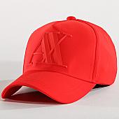 /achat-casquettes-de-baseball/armani-exchange-casquette-954079-cc518-rouge-167570.html