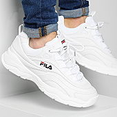 /achat-baskets-basses/fila-baskets-ray-low-1010561-1fg-white-167621.html