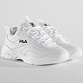 /achat-baskets-basses/fila-baskets-femme-ray-low-1010562-1fg-white-167630.html