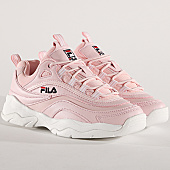 /achat-baskets-basses/fila-baskets-femme-ray-f-low-1010613-71d-chalk-pink-167710.html
