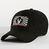 /achat-casquettes-de-baseball/jeune-riche-casquette-suede-chinatown-panda-noir-167692.html