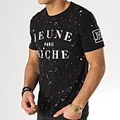 /achat-t-shirts/jeune-riche-tee-shirt-zongo-taches-noir-blanc-rouge-167699.html