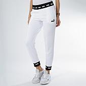 /achat-pantalons-joggings/puma-pantalon-jogging-femme-amplified-sweat-854382-blanc-noir-167652.html
