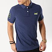 /achat-polos-manches-courtes/superdry-polo-manches-courtes-classic-pique-bleu-marine-167561.html