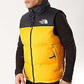 /achat-doudounes/the-north-face-doudoune-sans-manches-1996-nuptse-retro-3jqq-orange-noir-167603.html