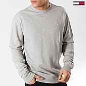 /achat-sweats-col-rond-crewneck/tommy-hilfiger-jeans-sweat-crewneck-classics-5496-gris-chine-167755.html