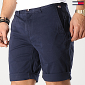 /achat-shorts-chinos/tommy-hilfiger-jeans-short-chino-essential-05444-bleu-marine-167776.html
