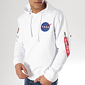 /achat-sweats-capuche/alpha-industries-sweat-capuche-poche-bomber-apollo-11-nasa-blanc-167866.html