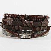 /achat-bracelets/deeluxe-lot-de-5-bracelets-apache-marron-167804.html
