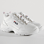 /achat-baskets-basses/fila-baskets-femme-strada-low-1010560-1fg-white-167949.html