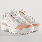 /achat-baskets-basses/fila-baskets-femme-disruptor-cb-low-1010604-02w-mashmallow-salmon-167961.html