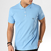 /achat-polos-manches-courtes/guess-polo-manches-courtes-f92h00jr02d-clair-167860.html