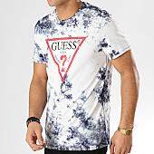 /achat-t-shirts/guess-tee-shirt-m92i45i3z00-blanc-bleu-marine-167977.html