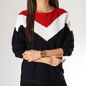 /achat-pulls/only-pull-femme-tilda-bleu-marine-blanc-rouge-167941.html