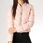 /achat-doudounes/only-doudoune-femme-short-nylon-rose-167945.html