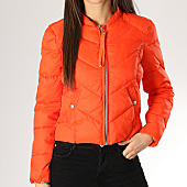 /achat-doudounes/only-doudoune-femme-short-nylon-orange-167946.html
