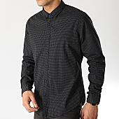 /achat-chemises-manches-longues/esprit-chemise-slim-manches-longues-029cc2f008-noir-168088.html