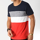 /achat-t-shirts/esprit-tee-shirt-029cc2k026-bleu-marine-blanc-rouge-168100.html