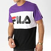 /achat-t-shirts/fila-tee-shirt-day-681244-noir-blanc-violet-168103.html