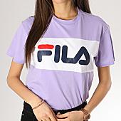 /achat-t-shirts/fila-tee-shirt-crop-femme-allison-682125-lilas-blanc-168104.html