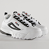 /achat-baskets-basses/fila-baskets-disruptor-cb-low-1010575-00e-white-black-168116.html