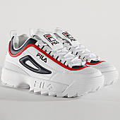 /achat-baskets-basses/fila-baskets-femme-disruptor-cb-low-1010575-01m-white-navy-red-168117.html
