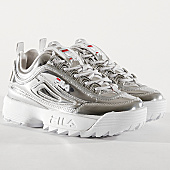 /achat-baskets-basses/fila-baskets-femme-disruptor-m-low-1010608-3vw-silver-168130.html