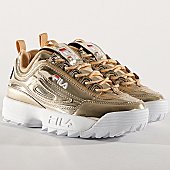 /achat-baskets-basses/fila-baskets-femme-disruptor-m-low-1010608-80c-gold-168132.html