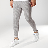 /achat-pantalons-carreaux/grj-denim-pantalon-raye-13517-gris-168027.html