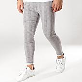 /achat-pantalons-carreaux/grj-denim-pantalon-carreaux-13518-gris-168047.html