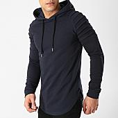 /achat-sweats-capuche/lbo-sweat-capuche-oversize-612-bleu-marine-168166.html