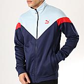 /achat-vestes/puma-veste-zippee-iconic-577980-bleu-marine-bleu-clair-rouge-168049.html