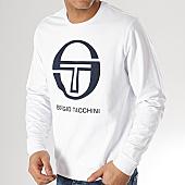 /achat-sweats-col-rond-crewneck/sergio-tacchini-sweat-crewneck-ciao-38027-blanc-168026.html