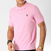 /achat-polos-manches-courtes/us-polo-assn-polo-manches-courtes-institutionnal-rose-167994.html