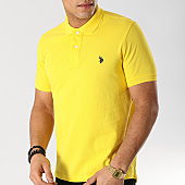 /achat-polos-manches-courtes/us-polo-assn-polo-manches-courtes-institutionnal-jaune-167995.html