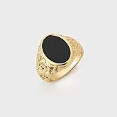 /achat-accessoires-de-mode/chained-and-able-bague-oval-detail-rc17090-dore-noir-168255.html