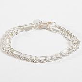 /achat-bracelets/chained-and-able-lot-de-2-bracelets-majesty-ba17047-argente-168261.html