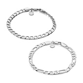 /achat-bracelets/chained-and-able-lot-de-2-bracelets-royal-oe0p1-argente-168307.html