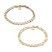 /achat-bracelets/chained-and-able-lot-de-2-bracelets-royal-oe0p2-dore-168309.html