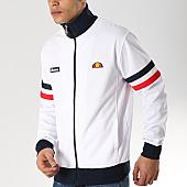 /achat-vestes/ellesse-veste-zippee-avec-bandes-roma-sha00117-blanc-bleu-marine-rouge-168338.html